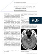 Variantes Anatomicas Circulacion Cerebral