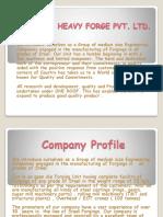 Parbhat Heavy Forge Pvt. Ltd.