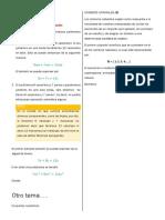 Algebra - Nociones Preliminares