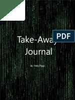 take-away journal