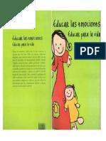 Amanda Cespedes Educar Las Emociones Educar Para La Vida PDF
