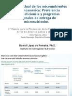 1 Situacion Actual de Los Micronutrientes en Latinoamerica