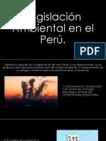 Ecologia Legislacion y Politica Ambiental