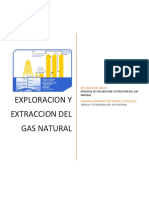 Antologia Proceso de Exploracion y Extraccion Del Gas Natural