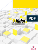 Kalsi Building Boards Brochure