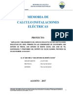 Mem. Calculo Inst. Electricas