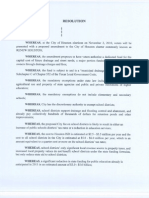 HISD Proposition 1 Resolution