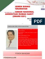 Dr Sutoto Manajemen Risiko Keperawatan Dalam Snars Ed 1