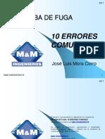 10 Errores Comunes Al Realizar Pruebas No Destructivas Pruebas de Hermeticidad en La Industria