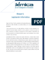 Bloque 6 Legislacion