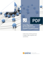 MDX Insurance Core System Transformation