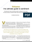 Volume-- The Ultimate Guide to Sentiment -Jan 2006 4 Pages __ Barbara Rockefeller