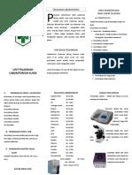 299623034 Bahan Leaflet Laboratorium Doc