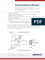Connection Stiffness Implementation Procedure