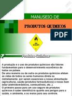 Manuseio de Produtos QuÍmicos
