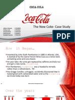 The New Coke Case Study