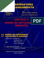 Clase 7 Captacion Manantes