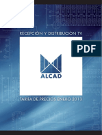 Alcad Tarifa 2013
