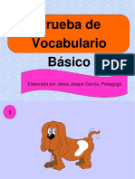 prueba de vocabulario básico dislalias