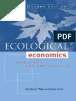 Ecological Economics-Principles and Applications