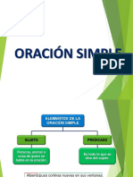 Ppt 03 Oración Simple
