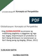 Globalisasyon 1