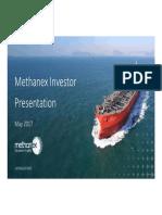 Methanex Presentation