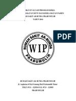 Laporan Evaluasi Pelaksanaan Program Peningkatan Mutu Dan Keselamatan Pasien