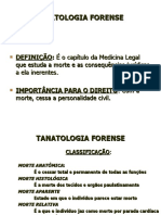 UNIP - TANATOLOGIA FORENSE 20009