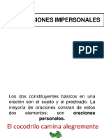 Ppt 4 Oraciones Impersonales, Adverbio