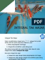 09. Integral Tak Wajar