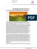 Se l'agricoltura biologica diventa un lavoro - Vivere Fano.it, 19 settembre 2018