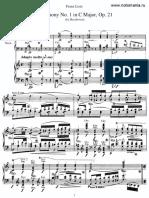 Людвиг-ван-Бетховен-Ludwig-van-Beethoven-Симфония-№1-op.21