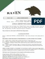 January 2001 Raven Newsletter Juneau Audubon Society