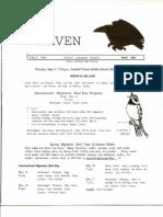 May 2001 Raven Newsletter Juneau Audubon Society