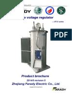 VR-8 Single Phase Step Voltage Regulator