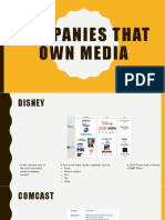 companies that own media 2