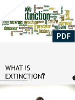 EXTINCTION AND THE DOMINO OR RIFFLE EFFECT OF SPECIES.