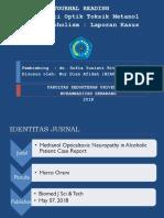 Journal Reading Opthalmology
