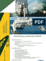 Bisso Marine Pipeline Burial Excavation Overview