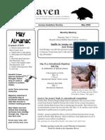 May 2002 Raven Newsletter Juneau Audubon Society
