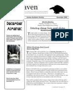 December 2002 Raven Newsletter Juneau Audubon Society