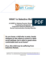 What is Selective Mutism 2014[1]