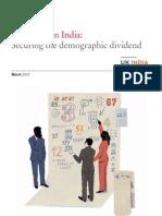 Education India Demographics_grant Thornton_mar2010