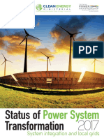 Status of Power System Transformation 2017