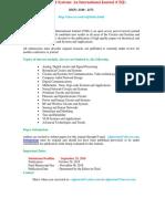 CSIJ 1 Page CFP
