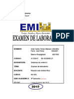 Examen Lab