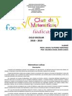 Documento Base de Matemáticas