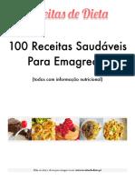 100 Receitas Saudáveis Para Emagrecer