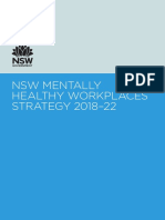 SafeWork NSW's Mentally Healthy Workplaces Strategy 2018–22